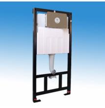 Falba építhetõ szerelõkeretes WC tartály, kapacitív érzékelõs mûködtetéssel
