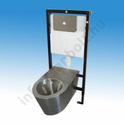 Szerelőkeretes WC modul, pneumatikus vezérléssel
